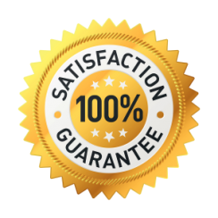 you can count on our 100% satisfaction guarantee services